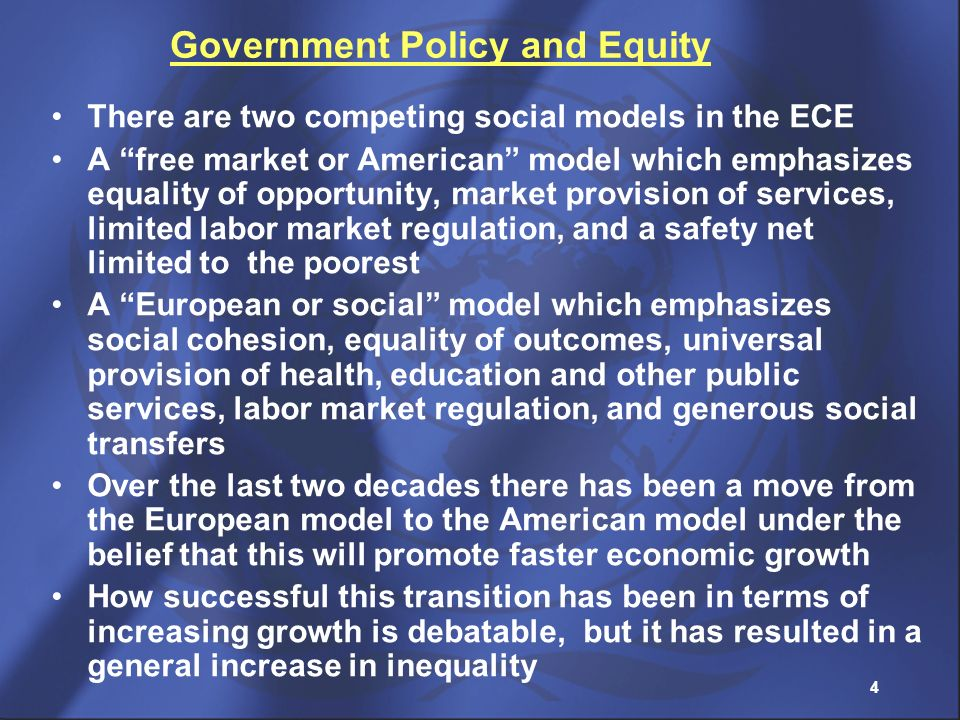 Government Policy and Equity