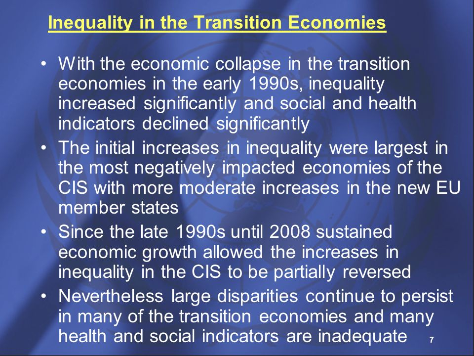 Inequality in the Transition Economies