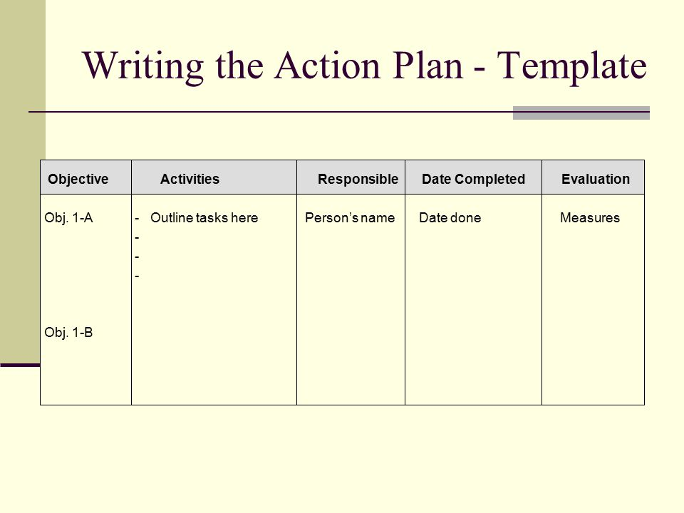 how to write an action plan Love the idea of a an action plan rather than a business plan the things you list on it are really thought provoking – i look forward to working through the process thanks for sharing.