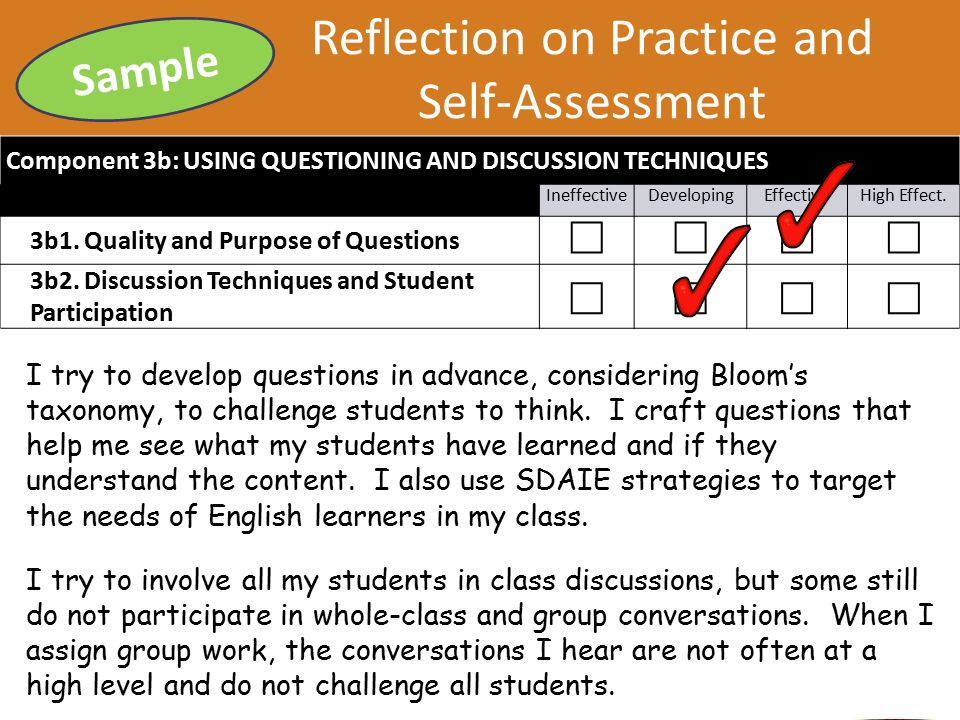 practice based self reflection Reflection on a significant incident from practice  believing that self and practice  entitled 'final-cup final' based on gibb's model of reflection.