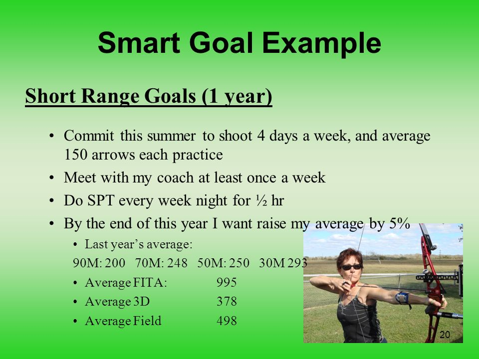 how to write smart goals examples
