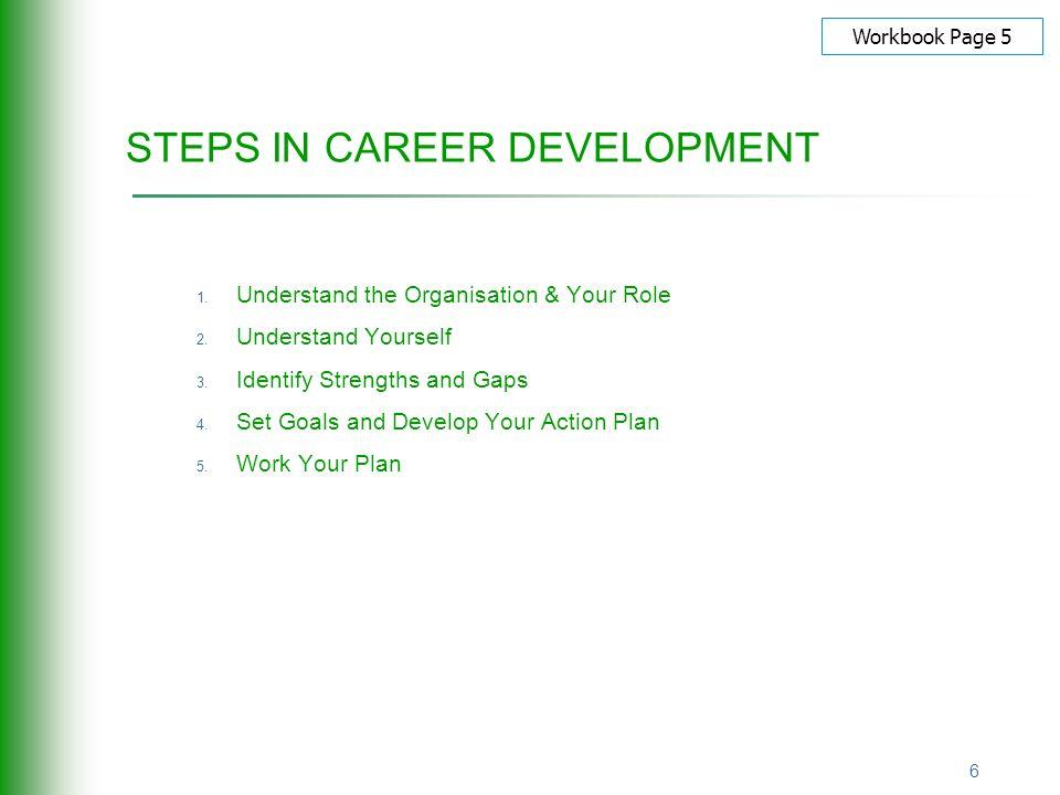 career development goals