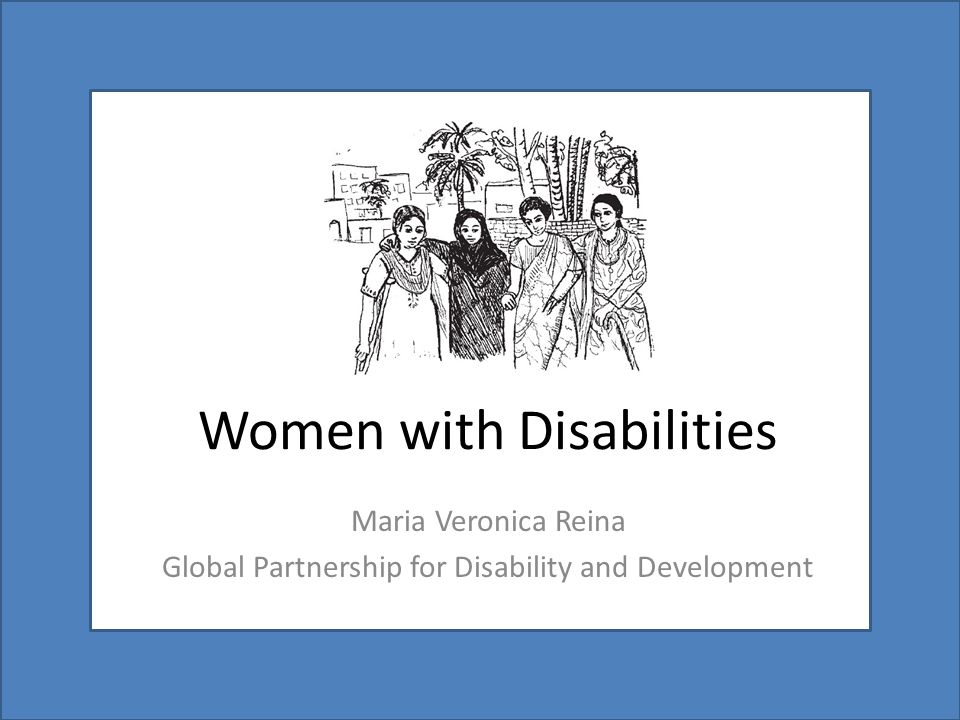 Women with Disabilities