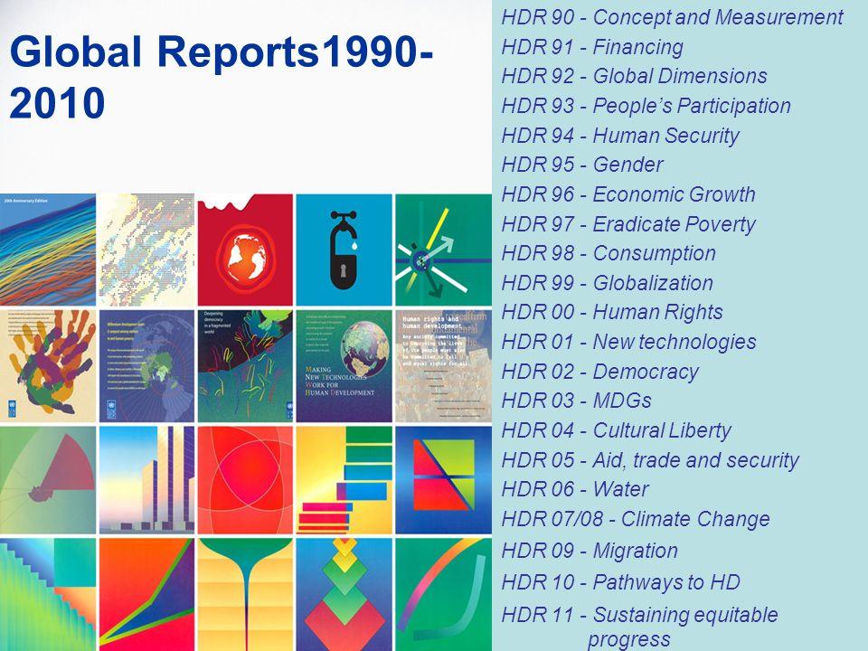 Global Reports1990-2010