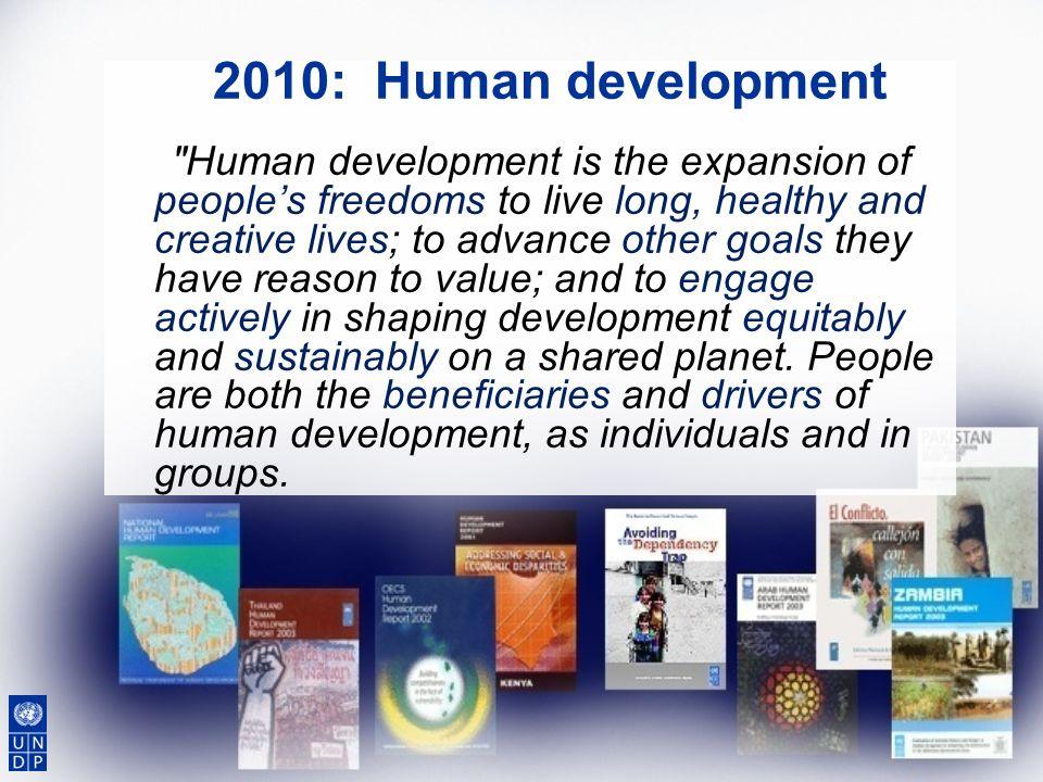 2010: Human development