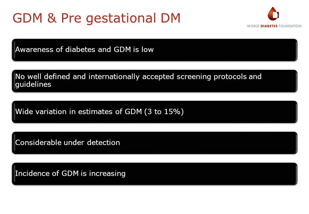 GDM & Pre gestational DM