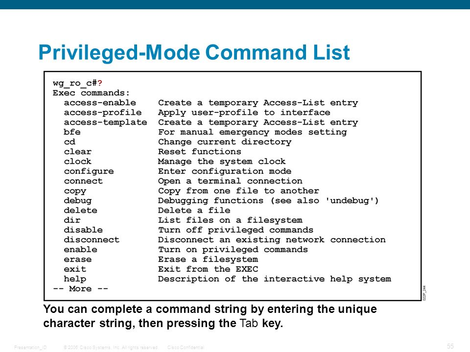 user and privilege exec modes An attacker who has user exec mode (privilege level 1) access to an affected device could exploit these vulnerabilities on the device by executing cli commands that contain crafted arguments.