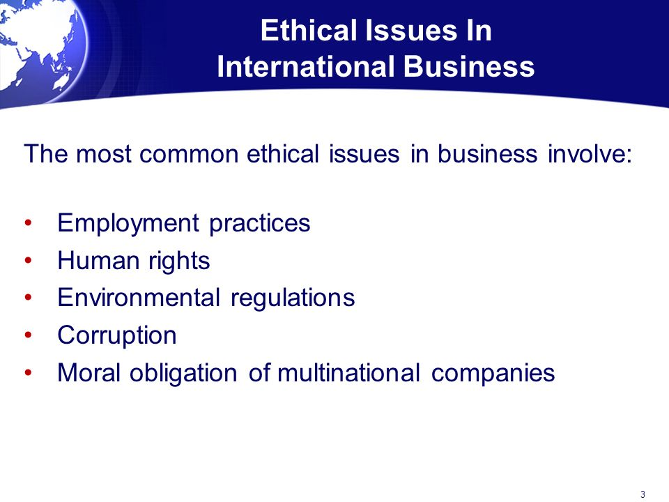 ethical issues facing businesses today Contemporary ethical issues 1 are there ethical or philosophical issues in drawing distinctions among the harm potential of supporting businesses:.