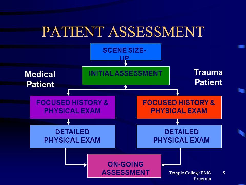 emt patient assessment