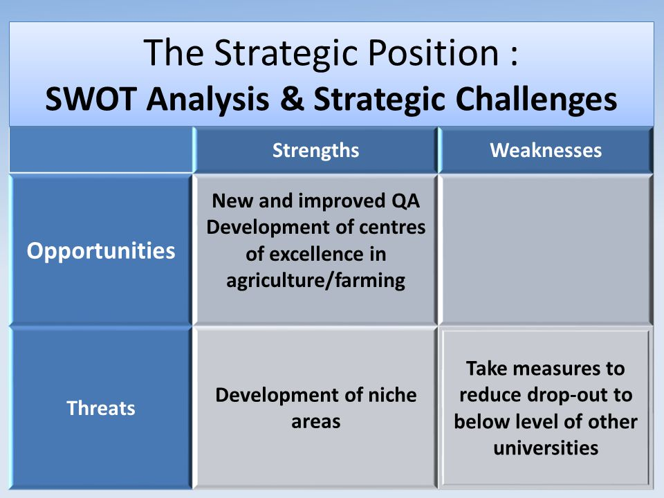 analyse the strategic position of a The strategic position strategic capabilities - download as powerpoint presentation (ppt), pdf file (pdf), text file (txt) or view presentation slides online.