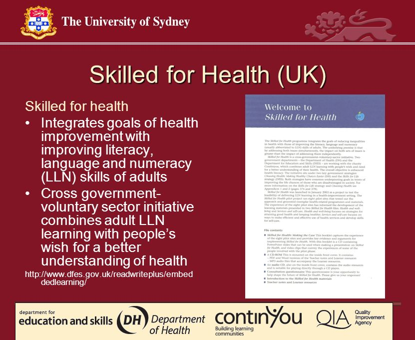 Skilled for Health (UK)