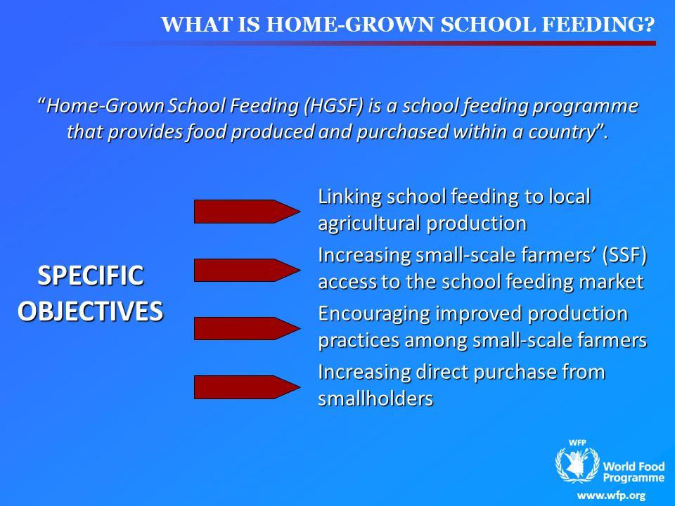 WHAT IS HOME-GROWN SCHOOL FEEDING