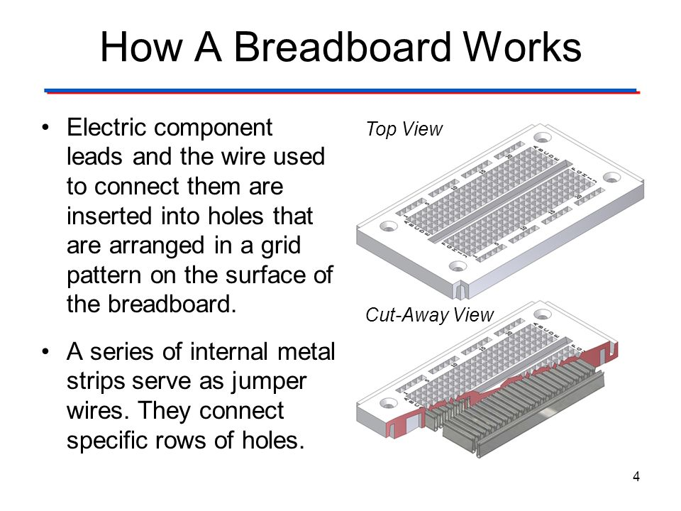 How A Breadboard Works The Breadboard. Digital Electronics TM. 1.2 Introduction to Analog.