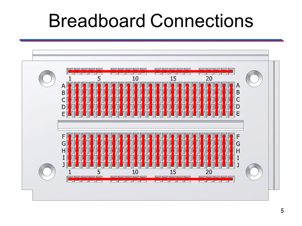 Breadboard Connections