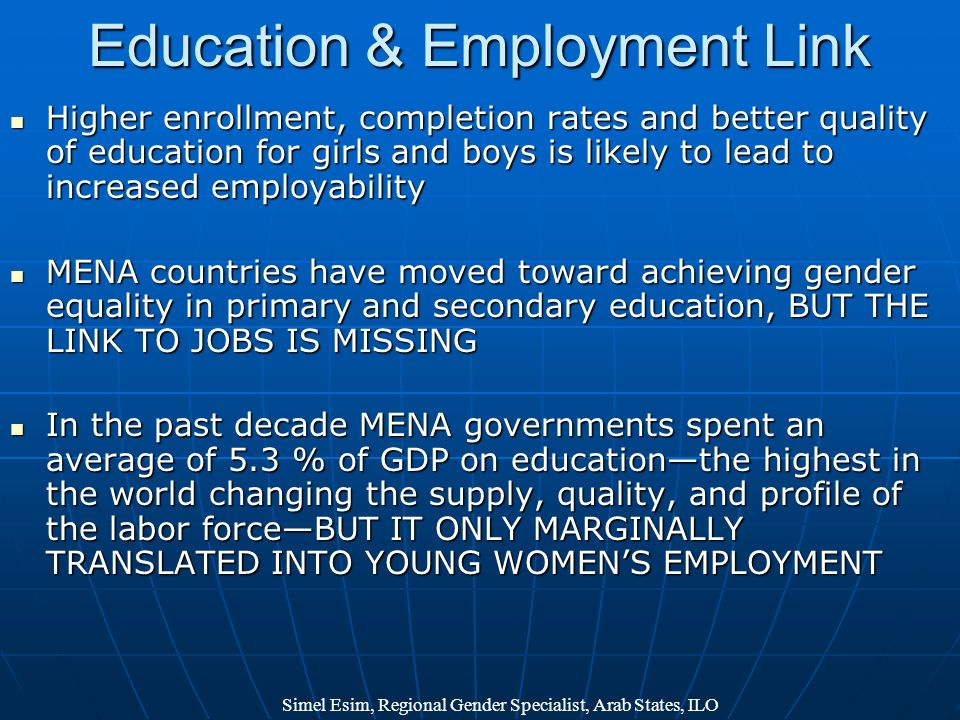 Education & Employment Link