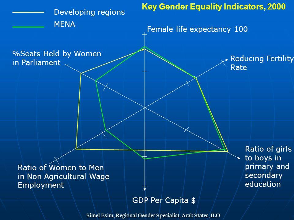 Key Gender Equality Indicators, 2000