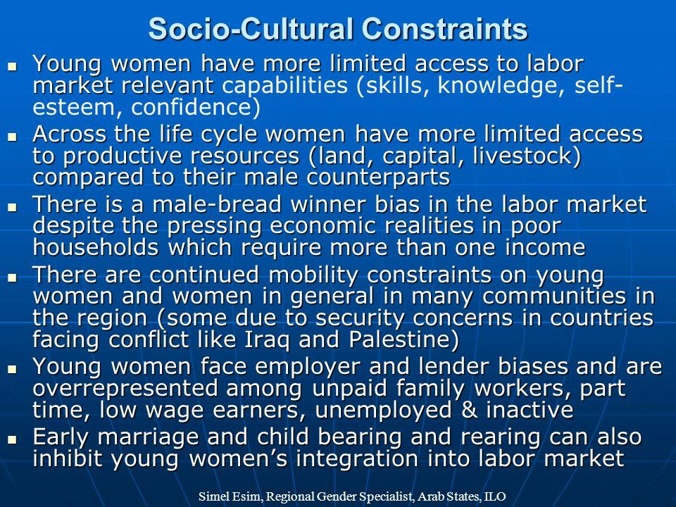 Socio-Cultural Constraints
