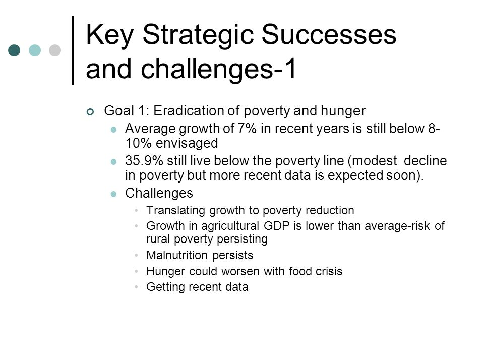 Key Strategic Successes and challenges-1