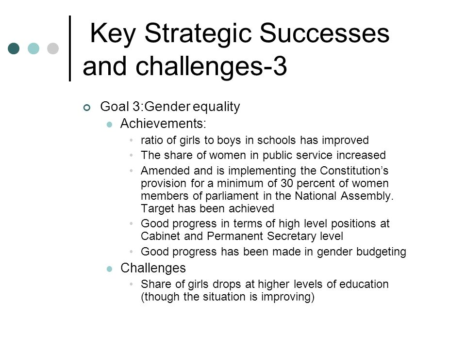 Key Strategic Successes and challenges-3