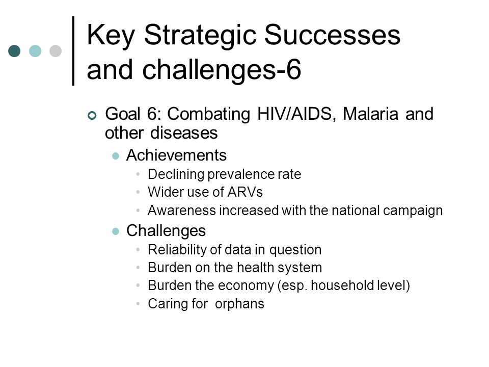 Key Strategic Successes and challenges-6