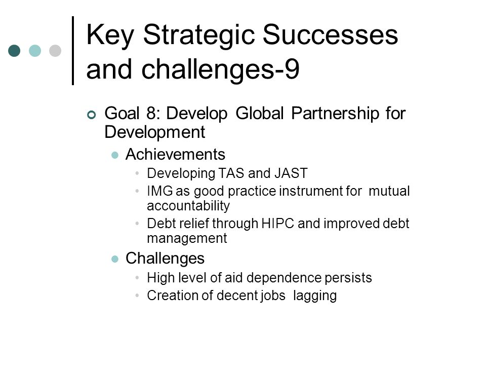Key Strategic Successes and challenges-9