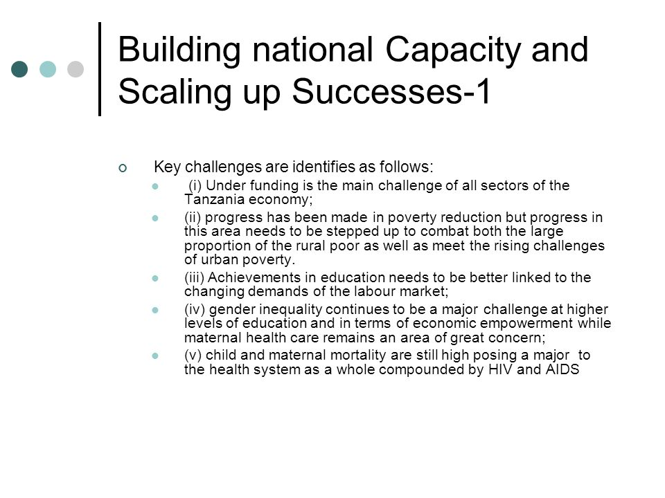 Building national Capacity and Scaling up Successes-1
