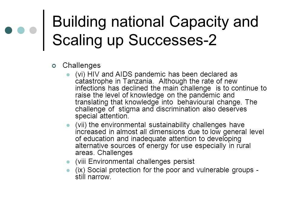 Building national Capacity and Scaling up Successes-2