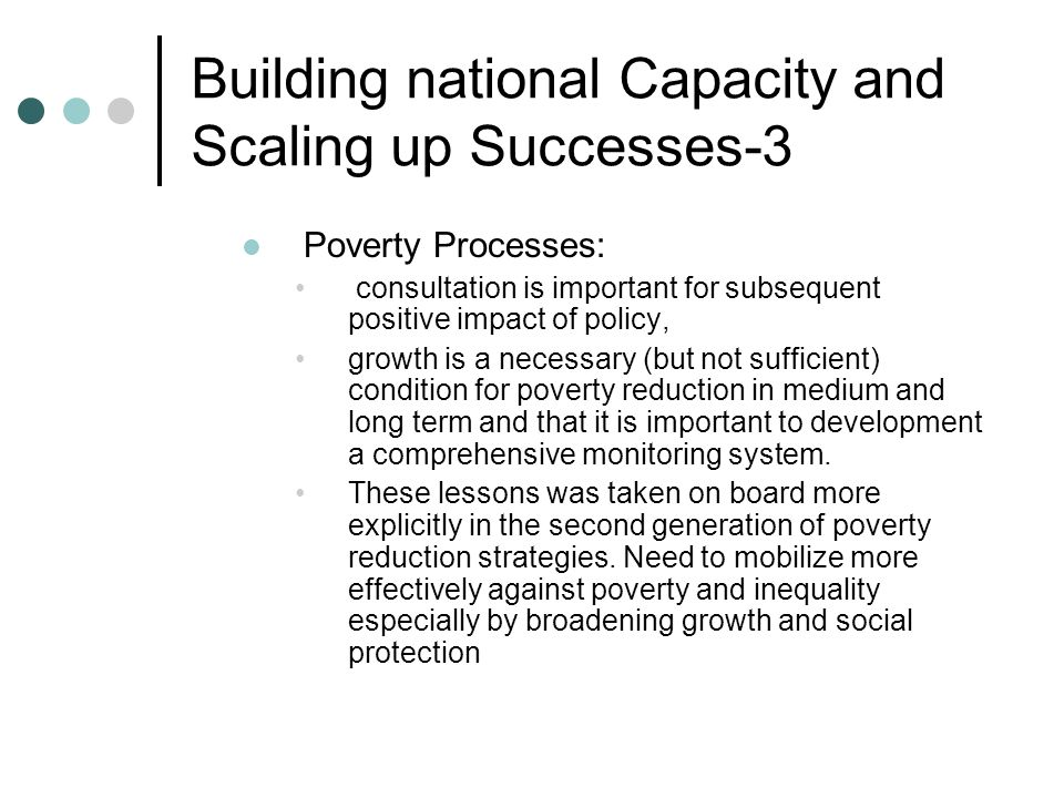 Building national Capacity and Scaling up Successes-3