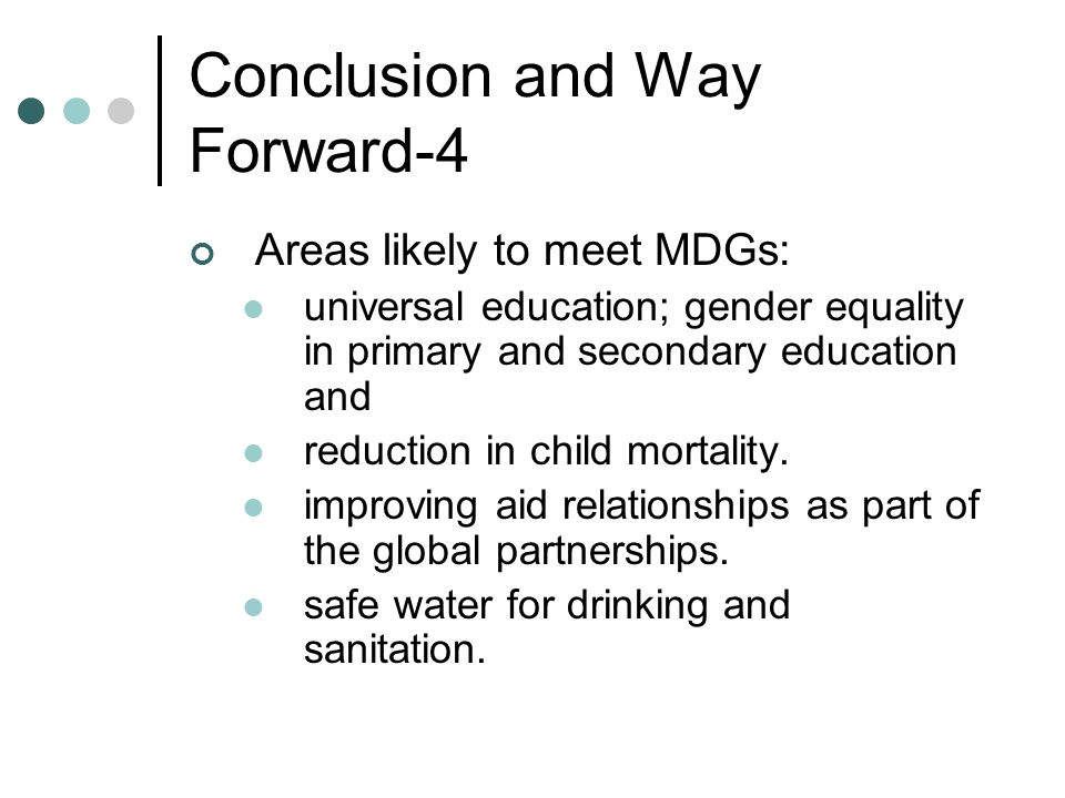 Conclusion and Way Forward-4