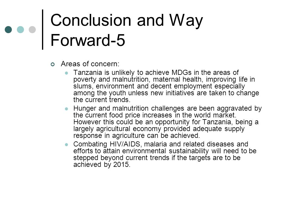 Conclusion and Way Forward-5