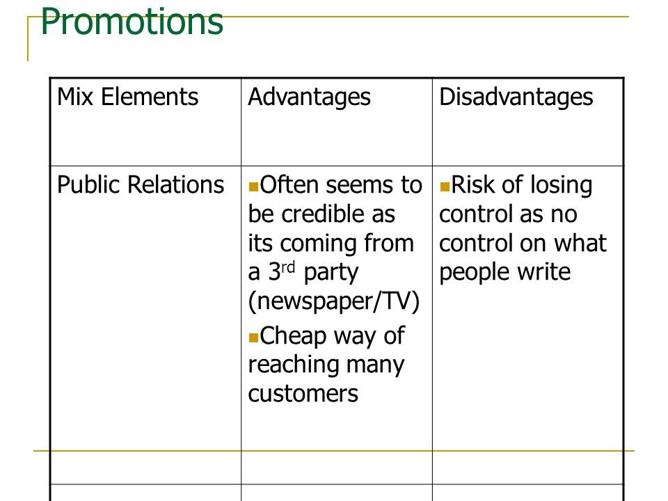 What Are the Disadvantages of Using Public Relations?