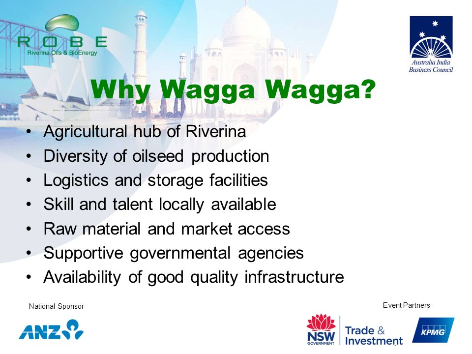 Why Wagga Wagga Agricultural hub of Riverina