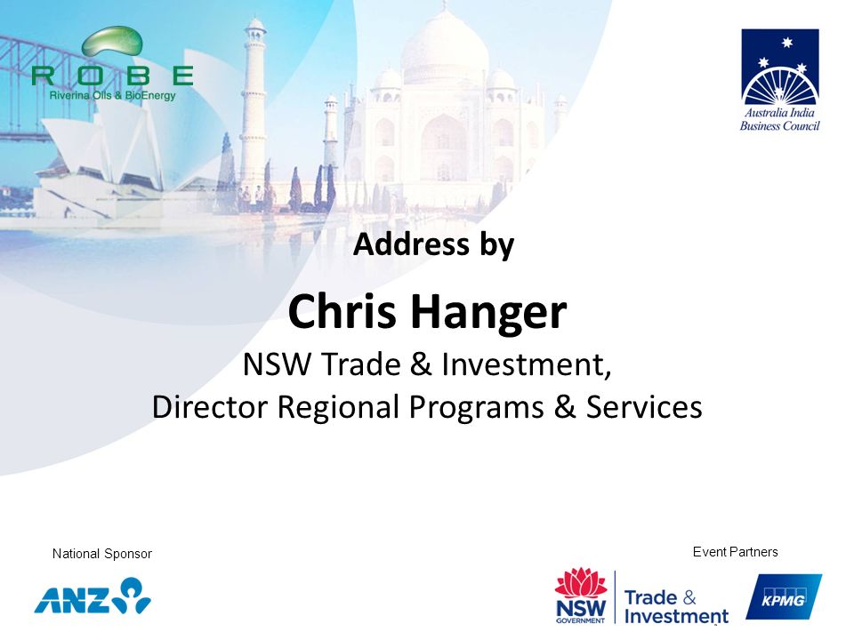 NSW Trade & Investment, Director Regional Programs & Services