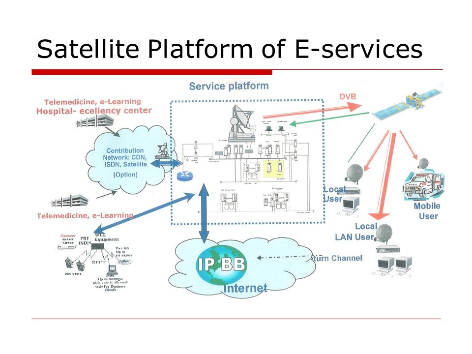 Satellite Platform of E-services