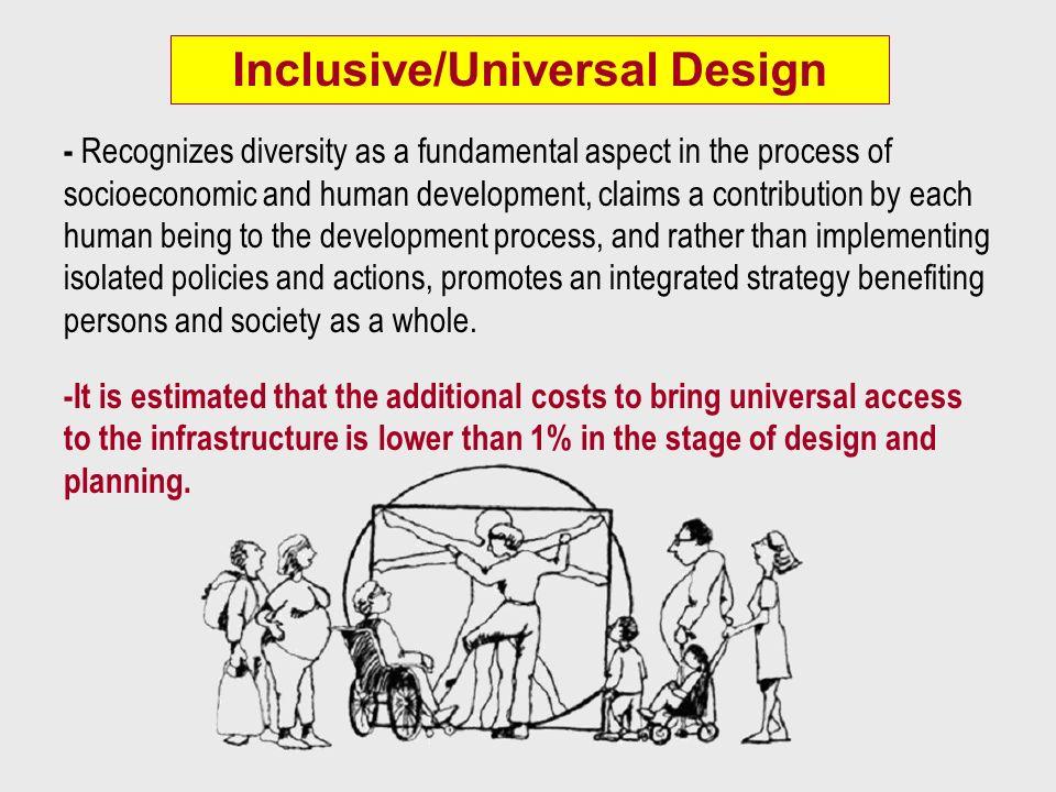 Inclusive/Universal Design