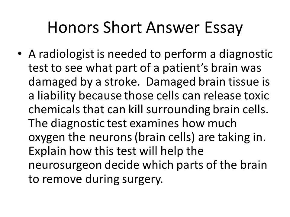 parts of the brain essay The brain does the thinking, learning, and feeling for the body  else, are  governed by unconscious functions of the brain and nervous.