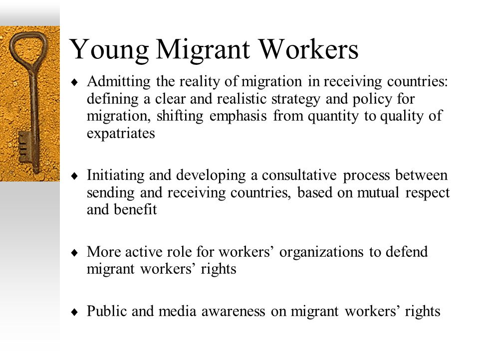 Young Migrant Workers