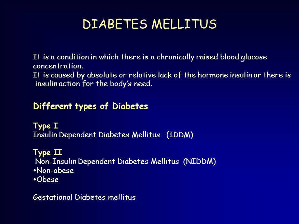 a study of the different types of diabetes Learn about the different types of diabetes and how their treatment plans differ  the three main types of diabetes are: type 1 diabetes type 2 diabetes  new study finds infant's blood.