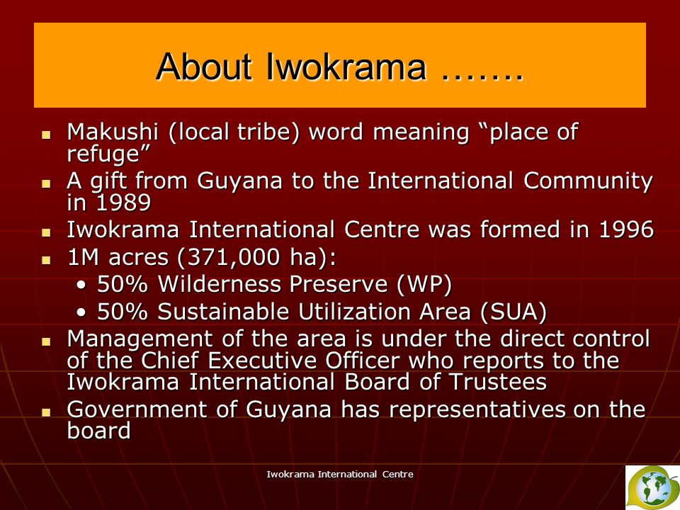Iwokrama International Centre