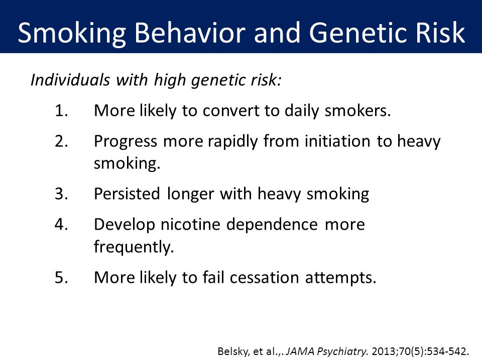 Psychological-Behavioral Approaches to Quit Smoking