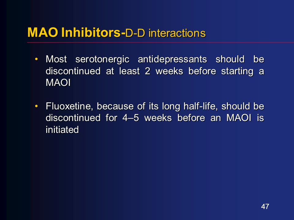 Fluoxetine Poisoning Induced Eps
