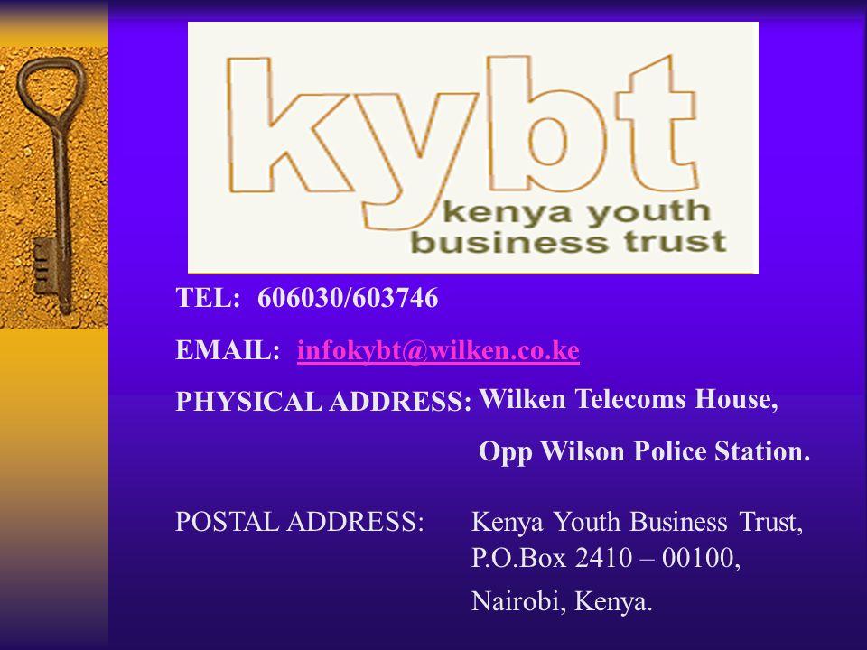 TEL: 606030/603746 EMAIL: infokybt@wilken.co.ke. PHYSICAL ADDRESS: Wilken Telecoms House, Opp Wilson Police Station.
