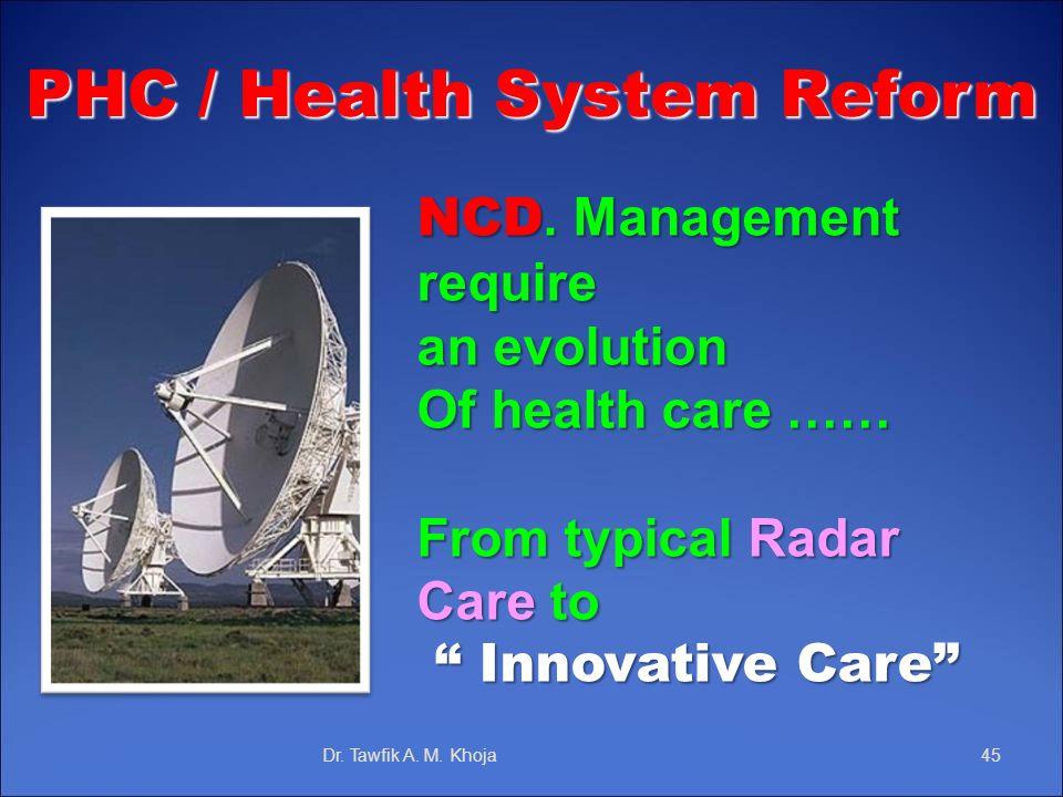 PHC / Health System Reform