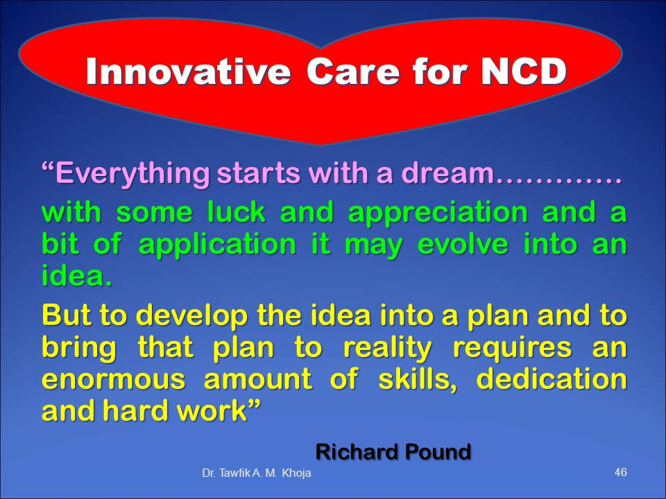 Innovative Care for NCD