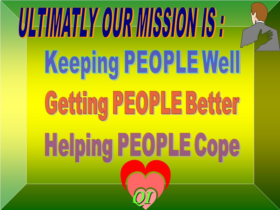 ULTIMATLY OUR MISSION IS :