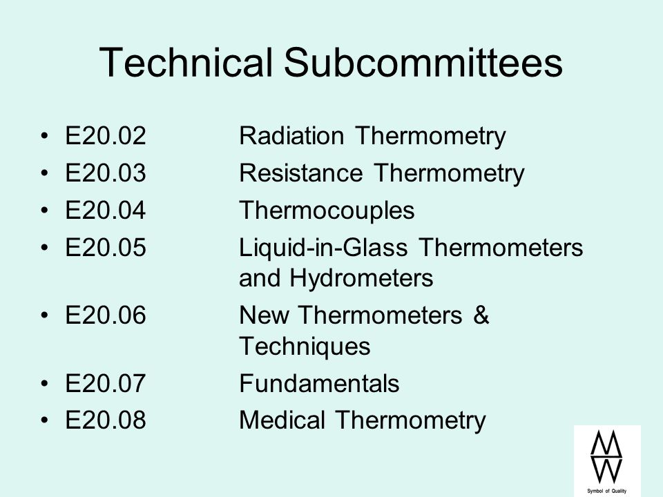 Technical Subcommittees