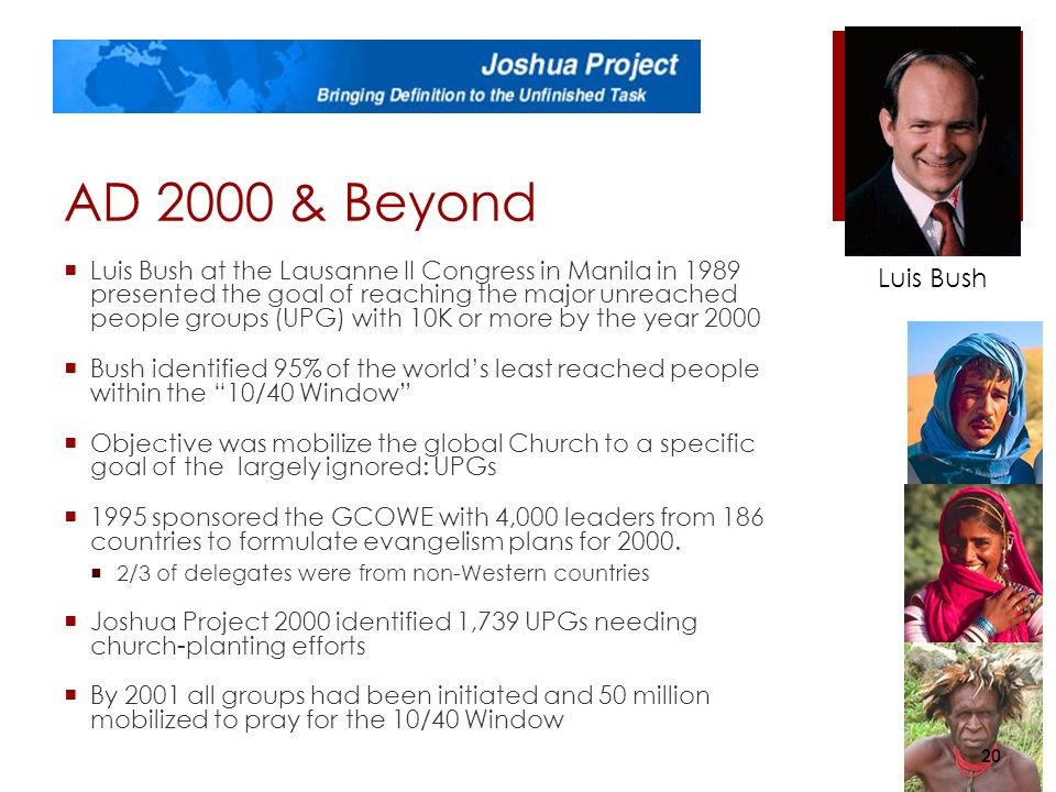 Modern missions part 2 the battle for the minds of men for 10 40 window joshua project