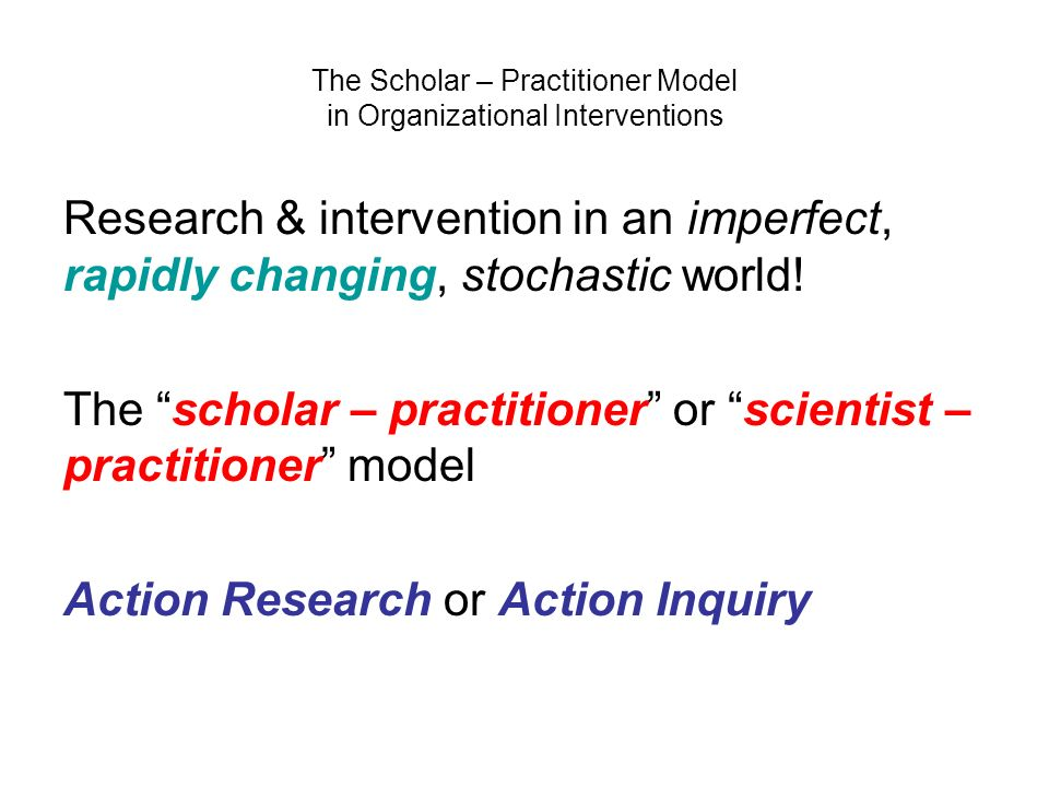 what is the scientist practitioner model There are a number of ways of understanding the role of a clinical psychologist the scientist practitioner the scientist-practitioner model produces a psychologist who is uniquely educated.