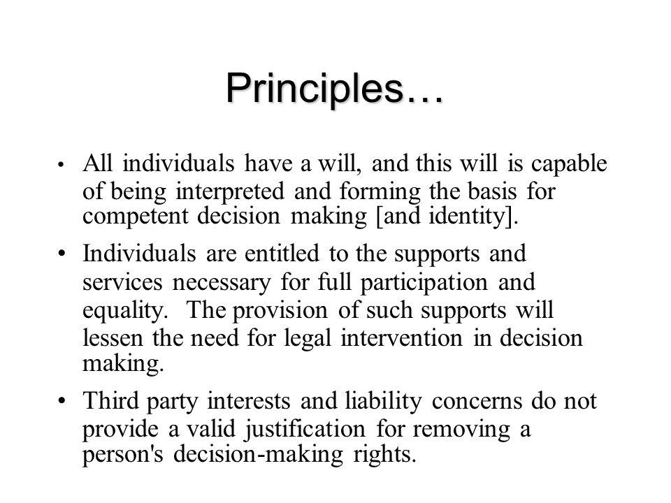 Principles…