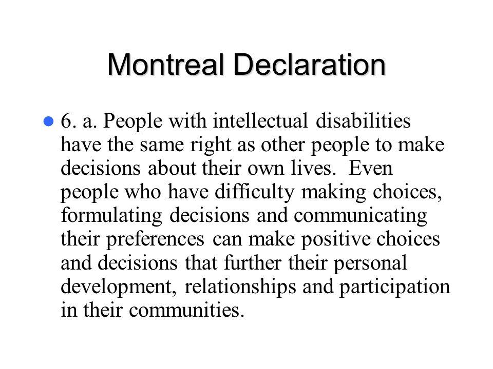Montreal Declaration